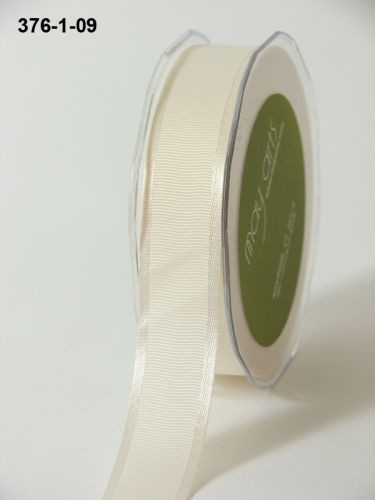 May Arts Lint - Grosgrain/Satin Edge - ivoor