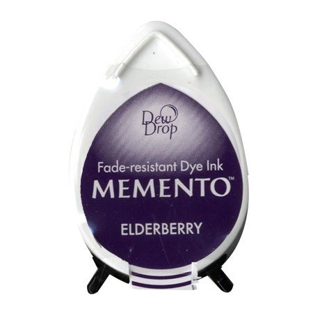 Memento Dew Drop Stempelkussen - Elderberry
