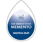 Memento Dew Drop Stempelkussen - Nautical Blue