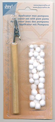 Joy Crafts Applicator met Pompons
