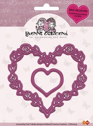 Stans Yvonne Creations - Rose Heart