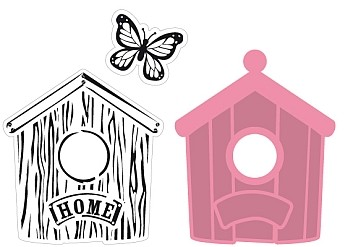 Marianne Design Collectables - Birdhouse Home