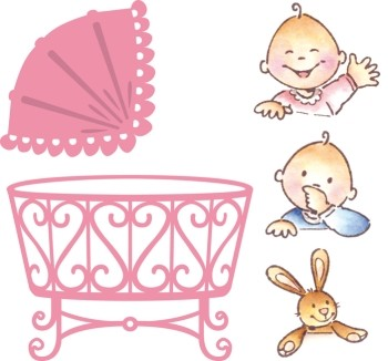 Marianne Design Collectables - Eline`s Baby