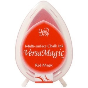 Versa Magic Dew Drop Stempelkussen - Red Magic