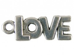 Charm 77704 - Love zilver