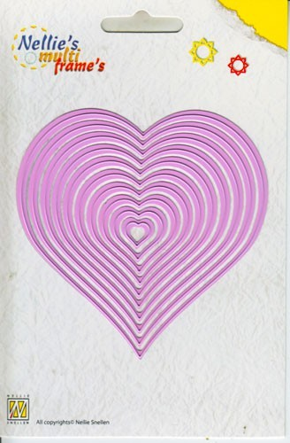 Nellie`s Multi Frames - Straight Heart