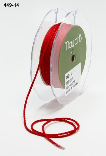 May Arts Lint - Mini Cording - rood