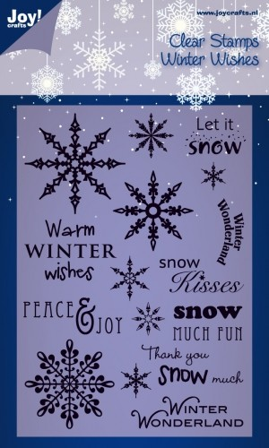 Joy Clearstamps - Winter Wishes Engels