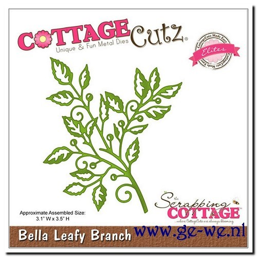Cottage Cutz stans - Bella Leafy Branch