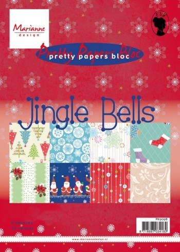 Pretty Papers Bloc - Jingle Bells