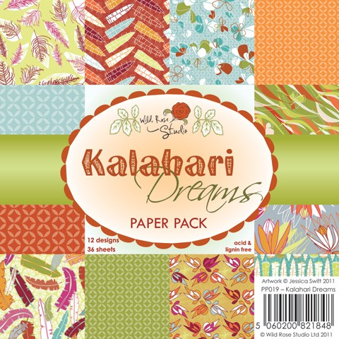 Wild Rose Studio Paper Pad - Kalahari Dreams