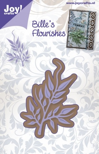 Joy Stencil - Bille`s Flourishes - tak 1