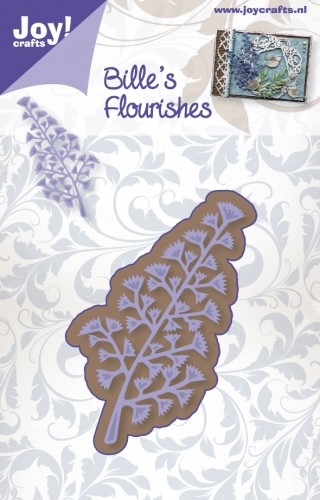 Joy Stencil - Bille`s Flourishes - tak 2