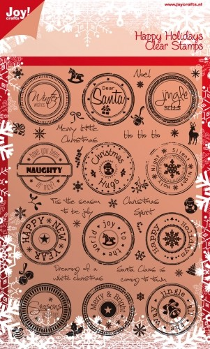 Joy Clearstamps Kerst 6410/0107