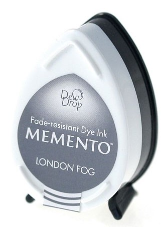 Memento Dew Drop Stempelkussen - London Fog
