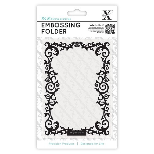 Xcut Embossing Folder - Leafy Border