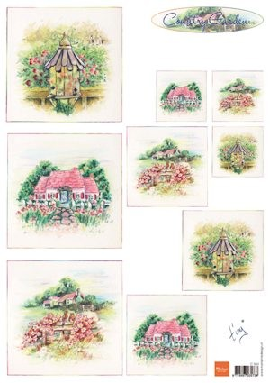 Knipvel Marianne Design - Tiny`s Country Garden 1