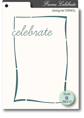 Memorybox Stencil - Celebrate