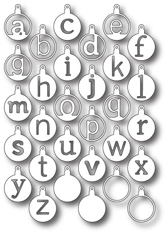 Memorybox Stans - Cirque Alphabet Tags