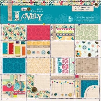 Docrafts Papermania Paper Pad - Lovely