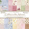Maja Design Paper Pad - Coffee in the Arbour