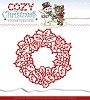 Yvonne Creations Stans - Cozy Christmas - Wreath