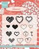 Clearstamps Marianne Design - Hearts