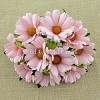 Mulberry Paper Flowers - Chrysanthemums - pale pink