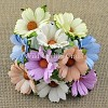 Mulberry Paper Flowers - Chrysanthemums - pastel tone