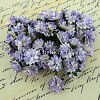 Mulberry Paper Flowers - Aster Daisy - 2-tone lilac