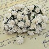 Mulberry Paper Flowers - Aster Daisy - white