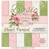 Lemon Craft Paper Pad - Heart Painted - Basic