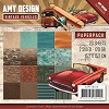 Paper Pack Amy Design - Vintage Vehicles