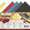 Linnenkarton Amy Design - Vintage Vehicles (vierkant)