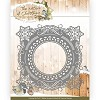 Stans Precious Marieke - The Nature of Christmas - christmas snowflake frame