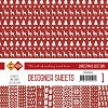 Card Deco Designer Sheets - Christmas Edition - kerstrood