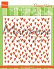 Embossing Folder Marianne Design - Trendy hartjes