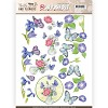 Stansvel Jeanine`s Art - Butterflies and Flowers SB10217