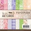 Paper Pack Jeanine`s Art - Butterflies and Flowers