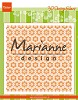 3D Embossing Folder Marianne Design - Japanese star