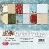 Craft & You Paper Pad - White Christmas (6 x 6 inch)