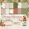 Craft & You Paper Pad - Vintage Christmas (6 x 6 inch)
