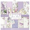 Stamperia Paper Pad - Lilac Flowers
