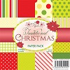 Wild Rose Studio Paper Pad - Traditional Christmas