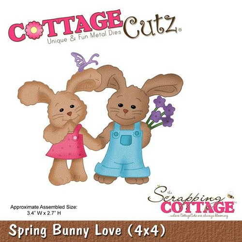 Cottage Cutz Stans - Spring Bunny Love
