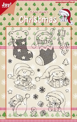 Joy Clearstamps Christmas 6410/0120