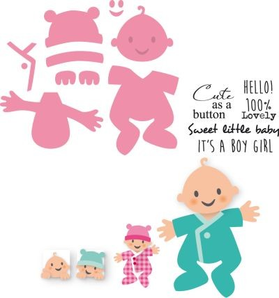 Collectables Marianne Design - baby