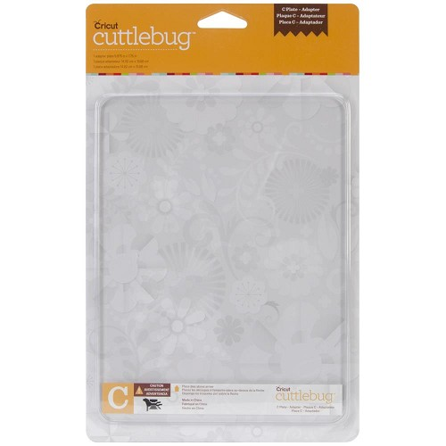 Cuttlebug C-plaat