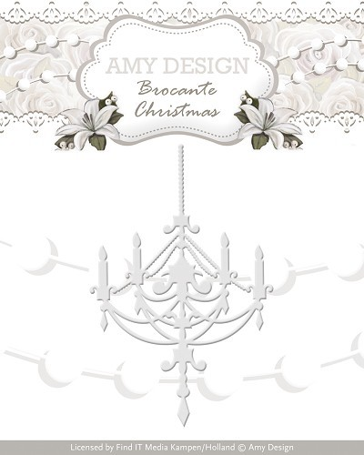 Amy Design Stans - Brocante Christmas - chandelier