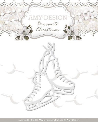 Amy Design Stans - Brocante Christmas - figure skates